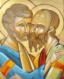 Saint Peter And Saint Paul Icon March 2017